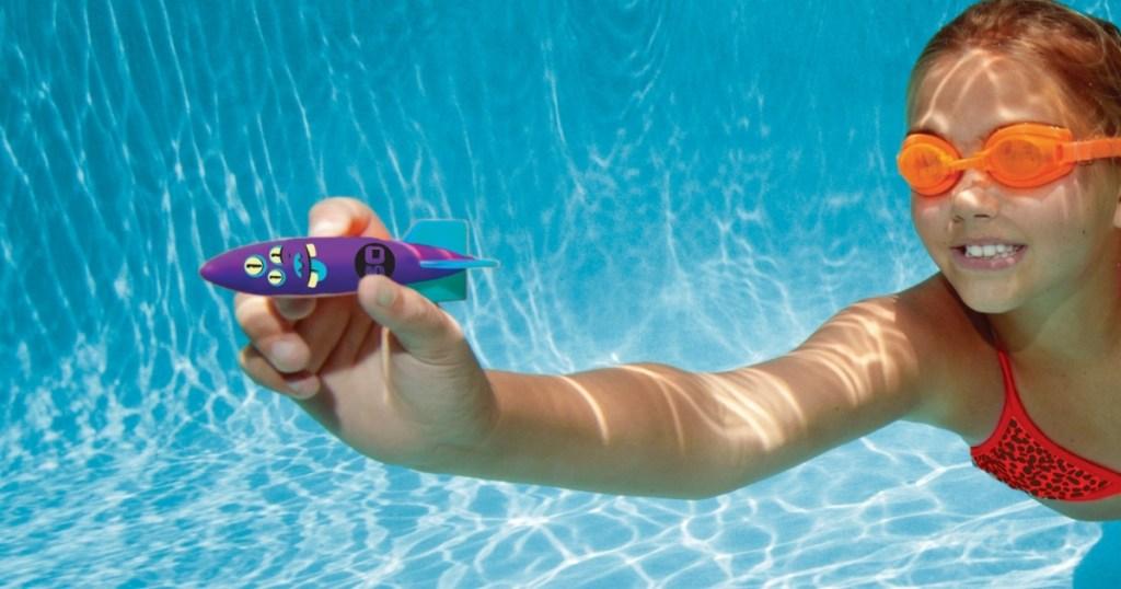 swimways toypedo pool diving toys