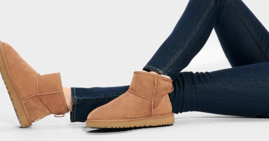 women's ugg mini boots