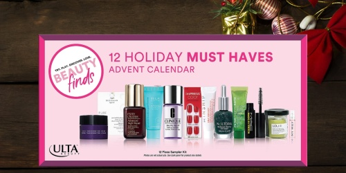 ULTA Beauty 12 Holiday Must Haves Advent Calendar Only $24