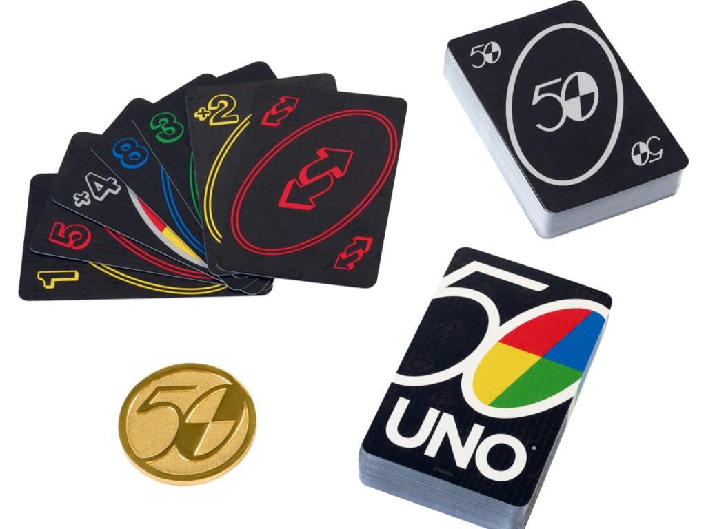 UNO Premium 50th Anniversary Edition Card Game2
