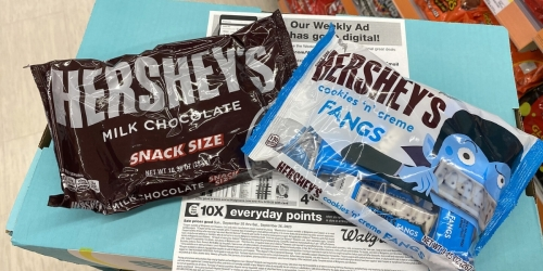 Hershey's Snack Size Candy Bags Only 99¢ Each at Walgreens (Regularly $5)