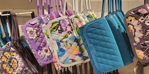 Vera Bradley Wristlets from $9.45, Crossbody Bags from $18.90 & More