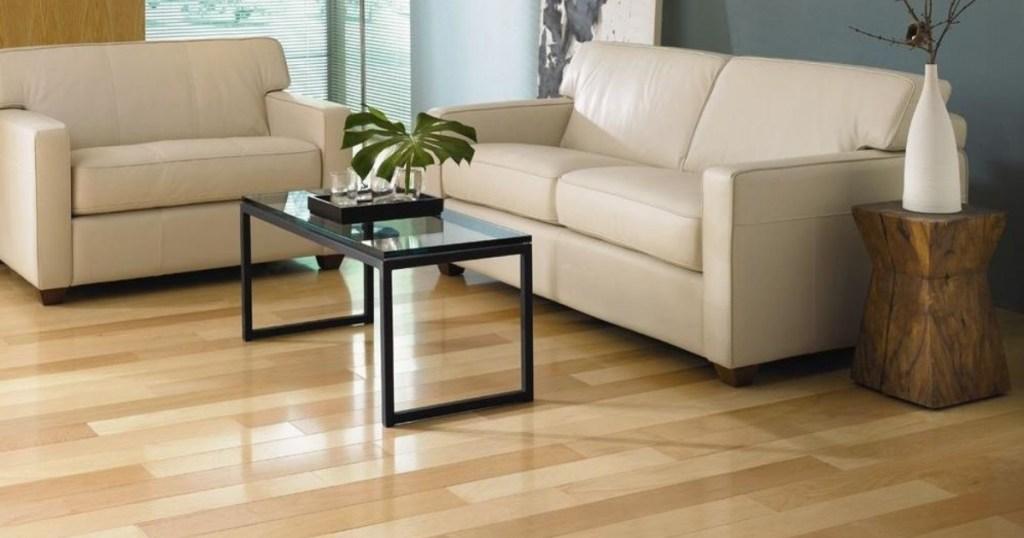 Vintage Maple Natural High Gloss Hardwood Flooring