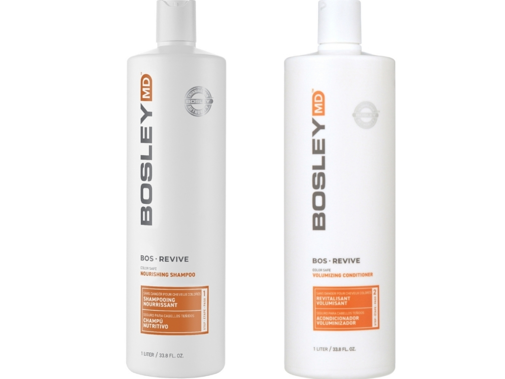 women's bosley shampoo and conditioner from walmart