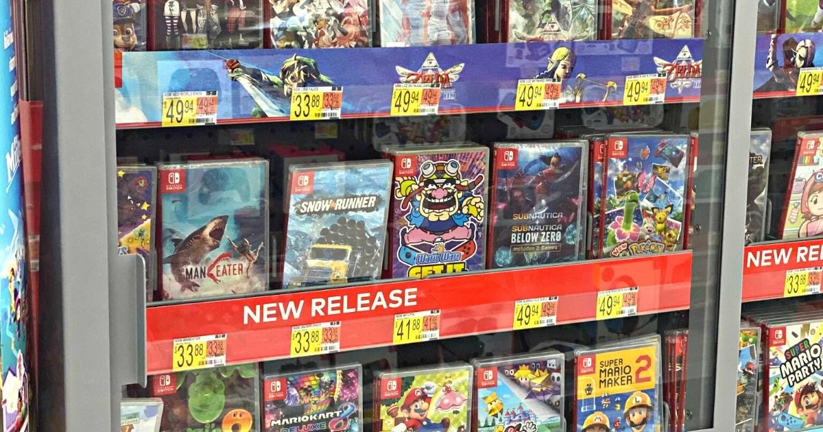 WarioWare: Get It Together! Nintendo Switch Video Game
