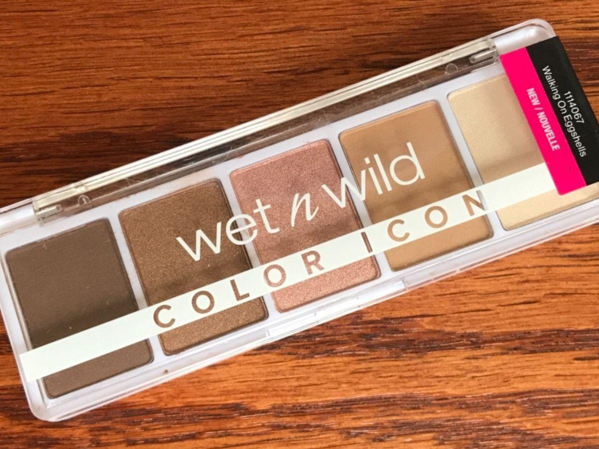 Wet Wild Color Icon palette