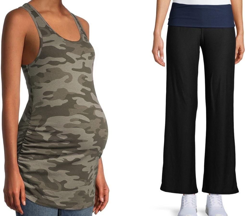Women's Maternity Tank and Lounge Pants Walmart