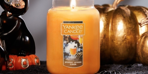 Yankee Candle Large Jar Halloween Candles Only $15.81 (Regularly $31)