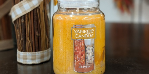 Large Yankee Jar Candle + Wax Melts Only $13.47 on Kohl's.com (Regularly $35) | Stock up on Fall Scents