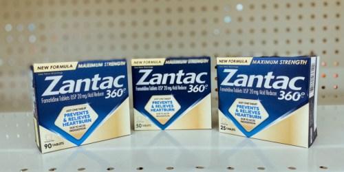Zantac 360 Acid Reducer Only $2.99 After Cash Back at Walgreens (Regularly $13)