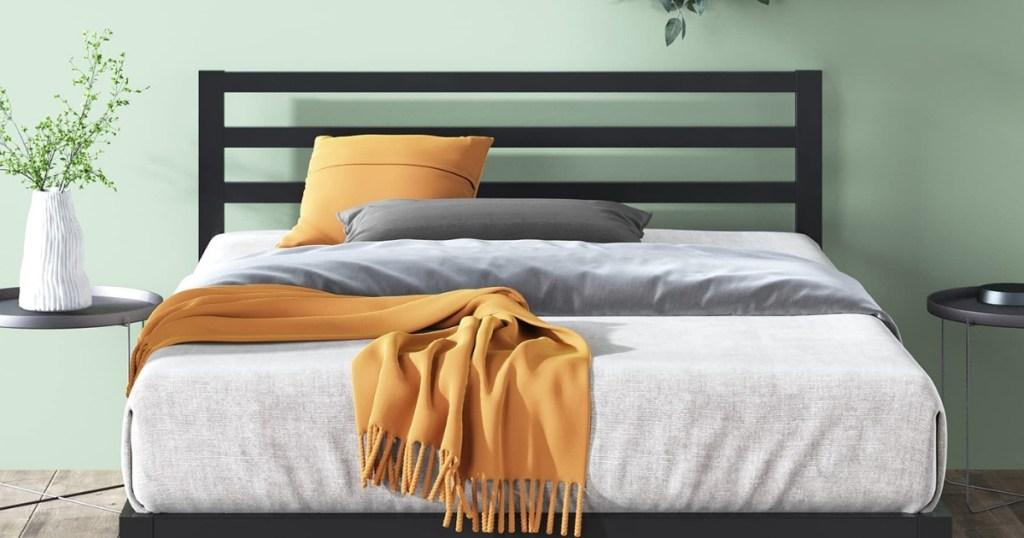 Zinus Platform Metal Queen Platform Bed Frame