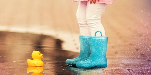 Zoogs Kids Rain Boots Only $9.99 on Zulily.com (Regularly $20)