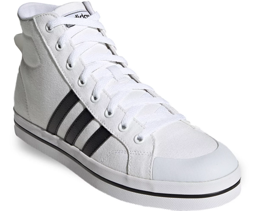 black and white adidas sneaker