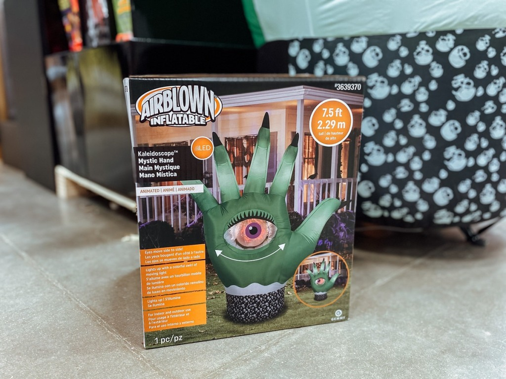 Mystic Hand inflatable in box