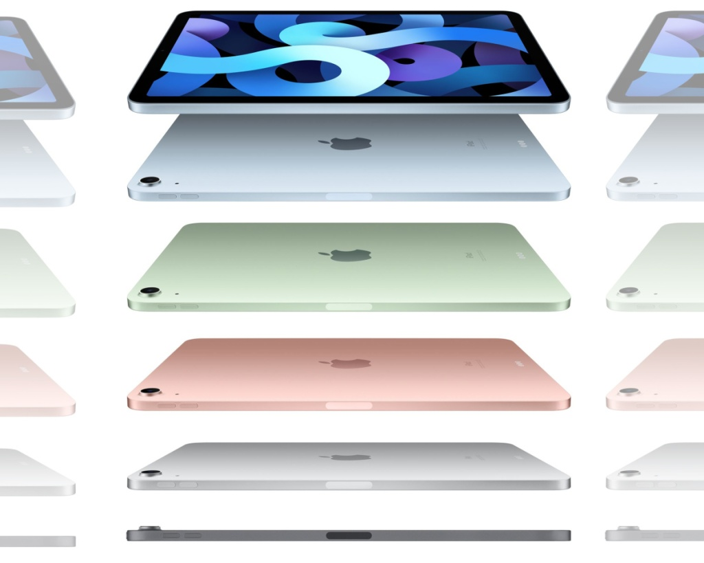 apple ipad air 4 all colors