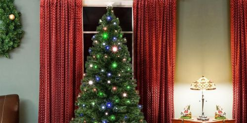 Up to $142 Off Pre-Lit Christmas Trees w/ Stand + Free Shipping