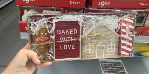 Christmas Home Decor from $9.98 at Walmart | Tiered Serving Trays, Mug Sets & More