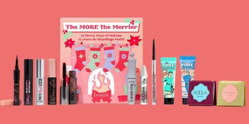 Benefit Cosmetics Beauty Advent Calendar Just $45 shipped ($140 Value)