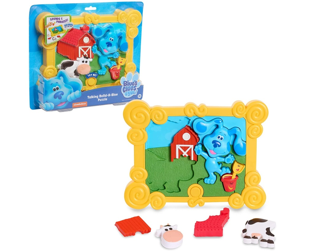 blues clues 3d puzzle in and out of box