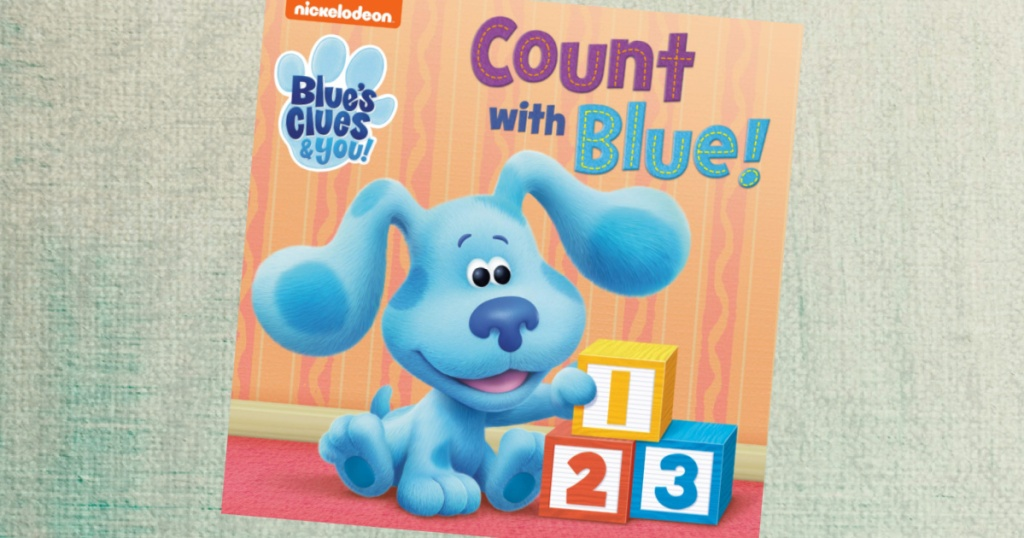 Blues Clues Count With Blue Book
