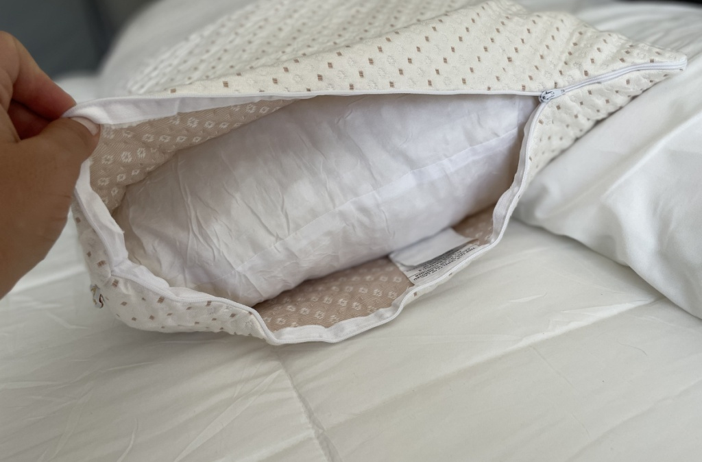 body pillow w: cover opened