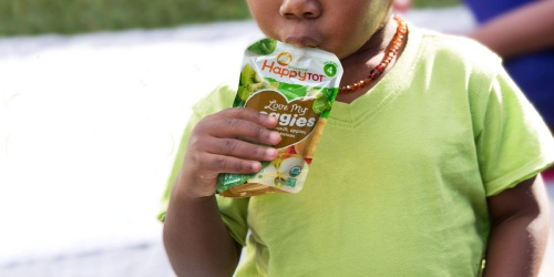Happy Tot Organics Baby Food Pouches 16-Count Only $13.53 Shipped on Amazon   Just 85¢ Each