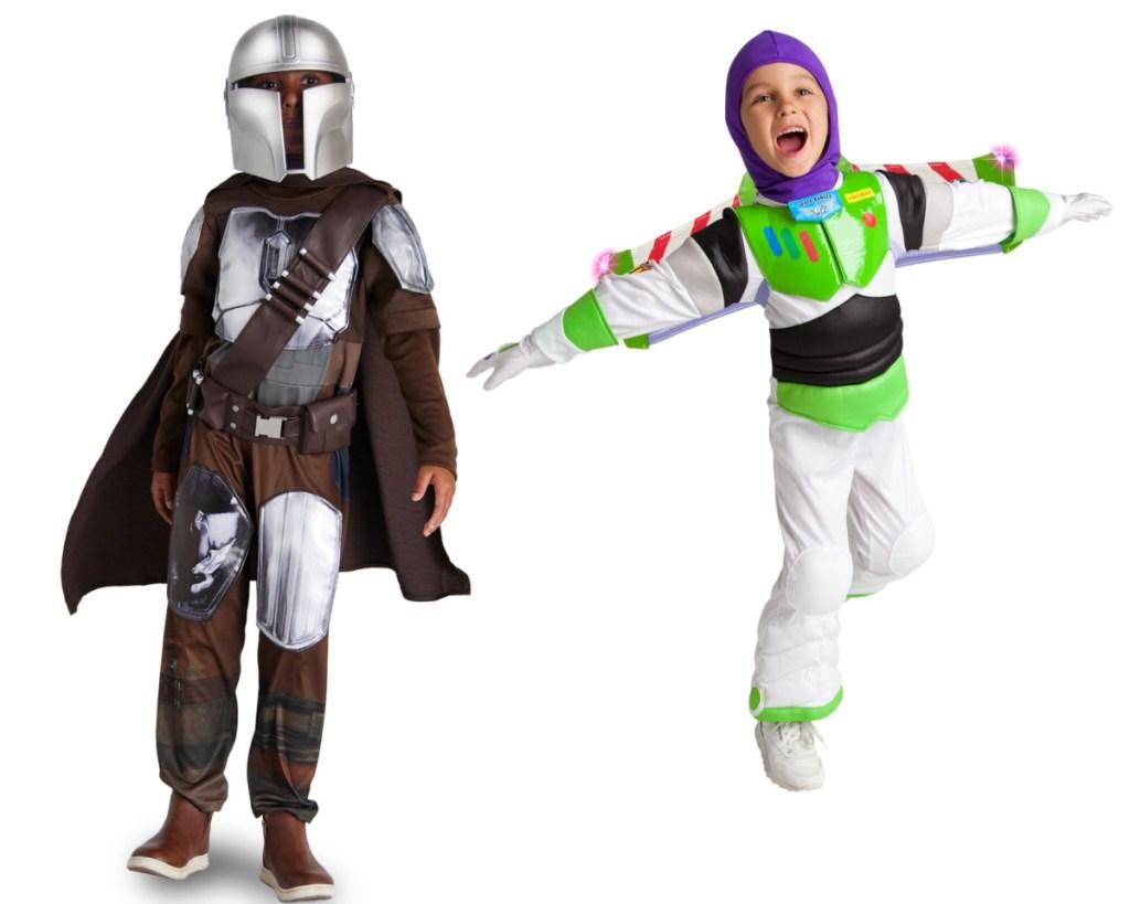 boys mandalorian costume