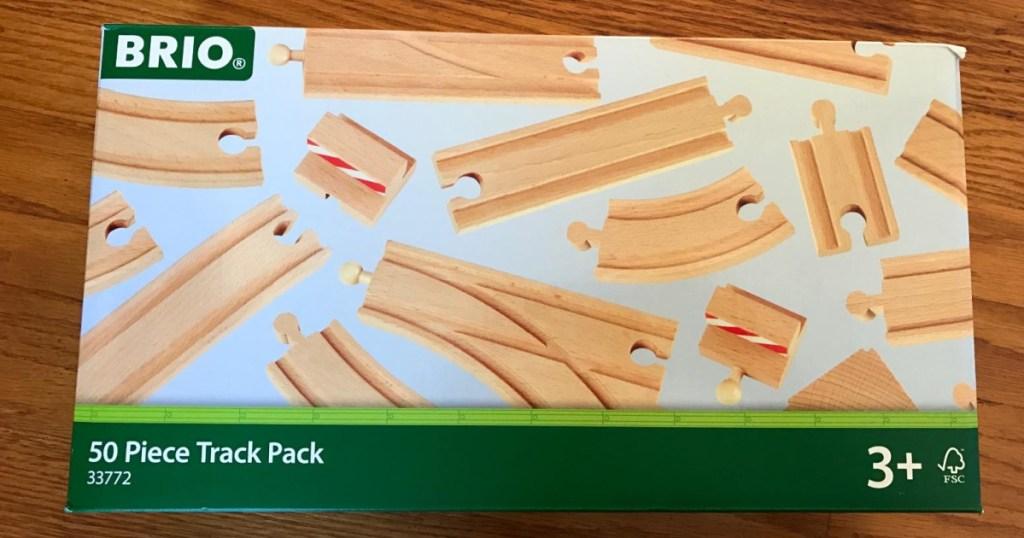 BRIO wooden tracks in box