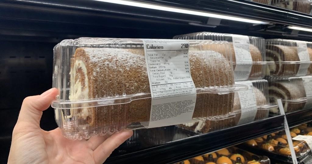 Sam's Club cake roll