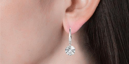Cate & Chloe 18K Gold Plated Earrings w/ Swarovski Crystals Just $16.75 Shipped