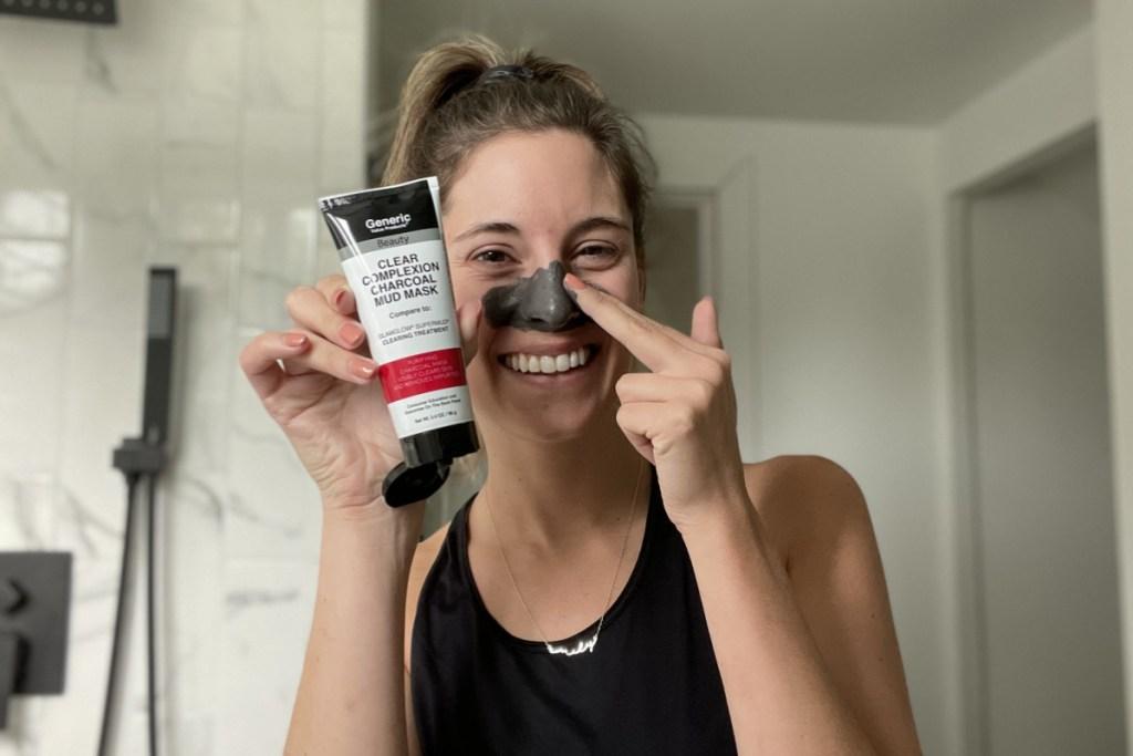 sally beauty's generics charcoal mask