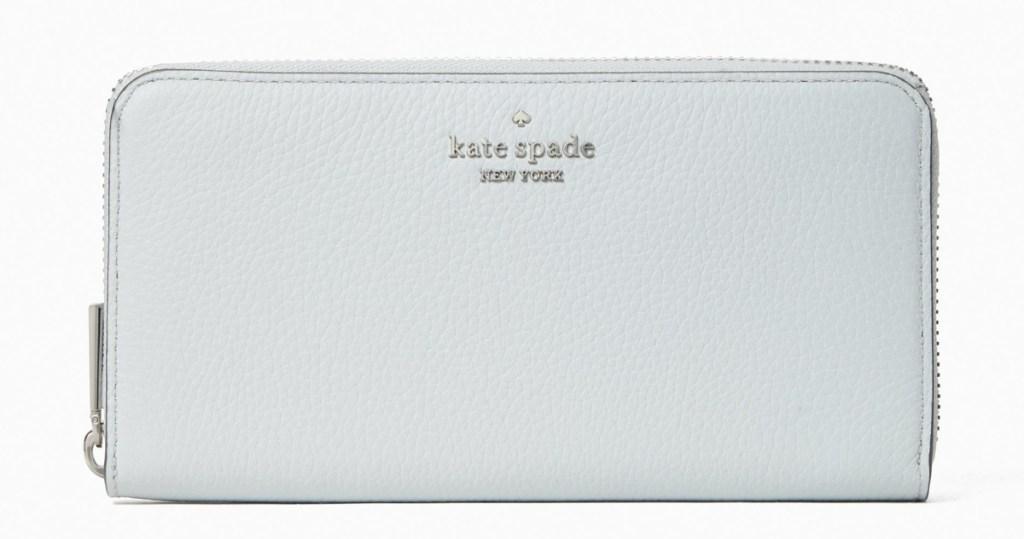 continental wallet in grey