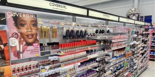 Better Than FREE CoverGirl Cosmetics After Cash Back at Walmart
