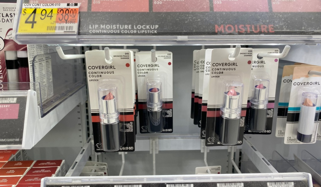 covergirl lipstick in store at walmart