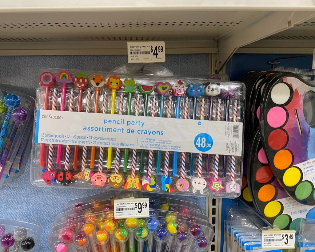 creatology pencils in store
