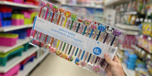 Pencil Party Pack 48-Piece Just $3.59 at Michaels | Great for Trick-or-Treaters
