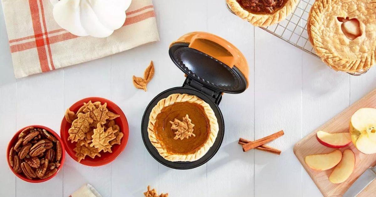 orange mini pie maker