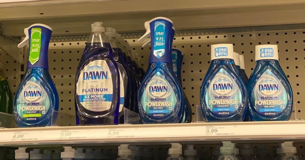 dawn powerwash dish soap spray ins tore at target