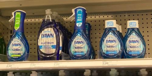 Dawn Platinum Powerwash Dish Sprays from $1.50 Each At Target After Cash Back