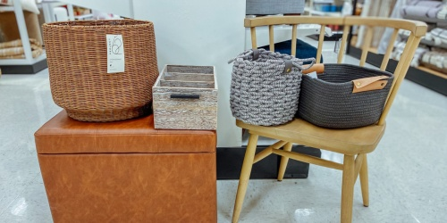 Our Favorite Storage Baskets & Totes Are 40% Off at Target   Get Organized in Style