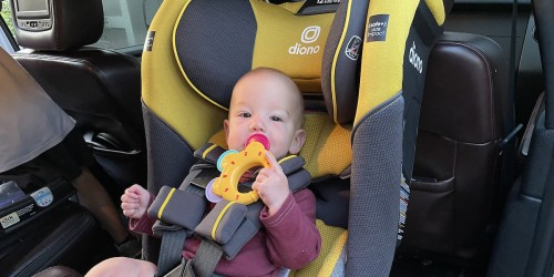 Diono Radian 3QX Car Seat Only $199.99 (Regularly $400) | Fits Infants & Kids from 4 to 120 Pounds!