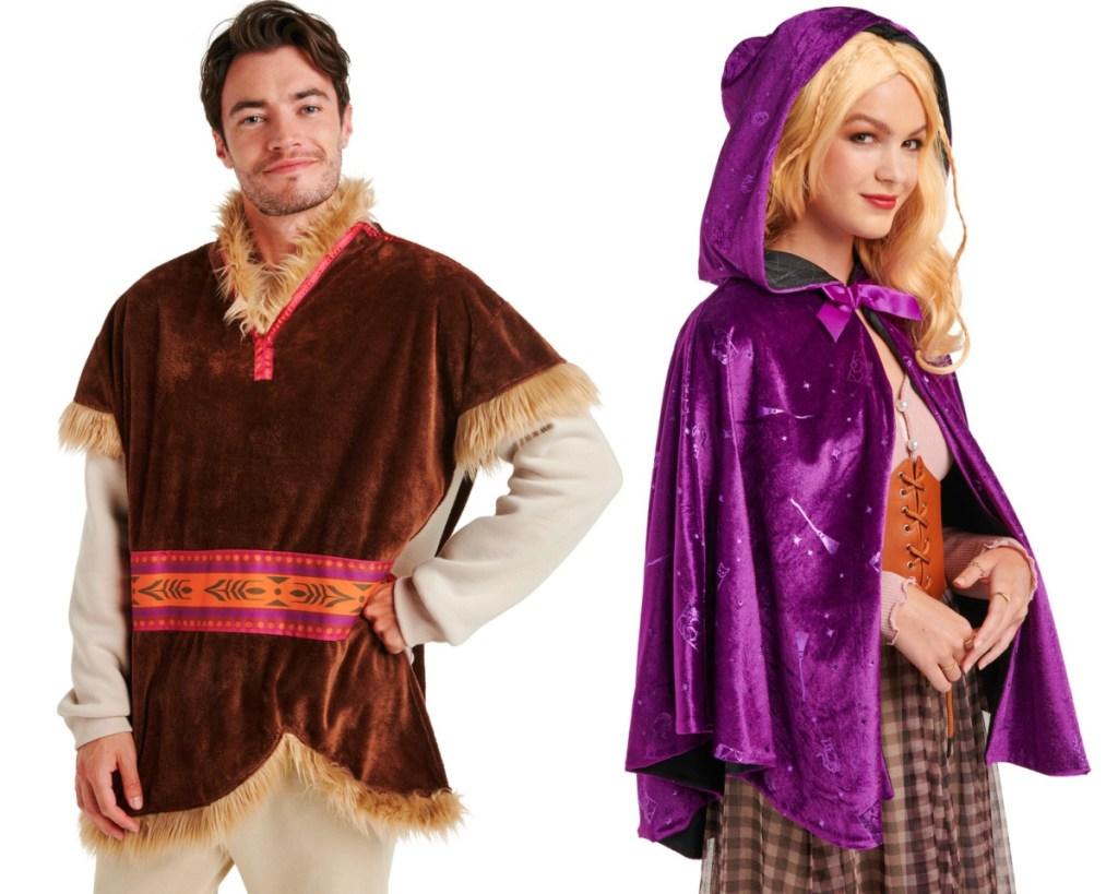 kristoff and sarah sanderson disney adult costumes