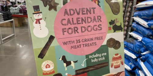 Advent Calendar for Dogs Just $9.98 at Sam's Club | Includes 35 Grain-Free Meat Treats
