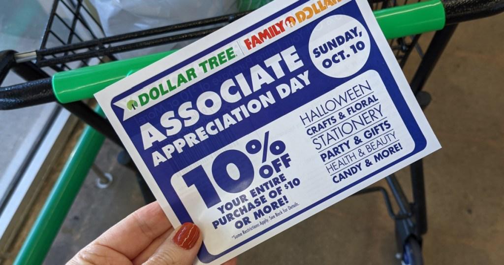 dollar tree flyer 10%