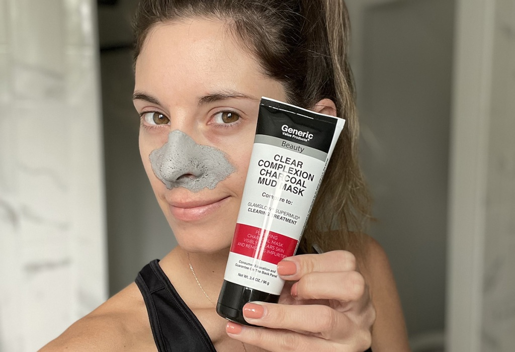 sally beauty generics glam glow mud mask dupe