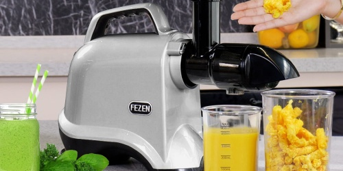 Fruit & Veggie Juicer Just $40 Shipped on Amazon | Quiet Motor & Easy to Clean