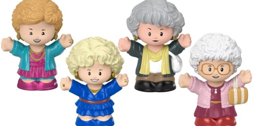 Fisher-Price Little People Golden Girls 4-Piece Set Just $19.99 on Amazon
