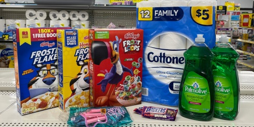 *HOT* 11 Grocery, Household & Personal Care Items Only $9.15 at Dollar General (9/11 Only – Just Use Your Phone)