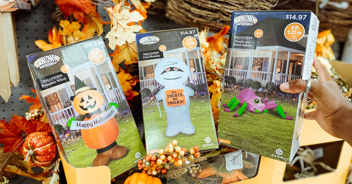 halloween inflatables boxes