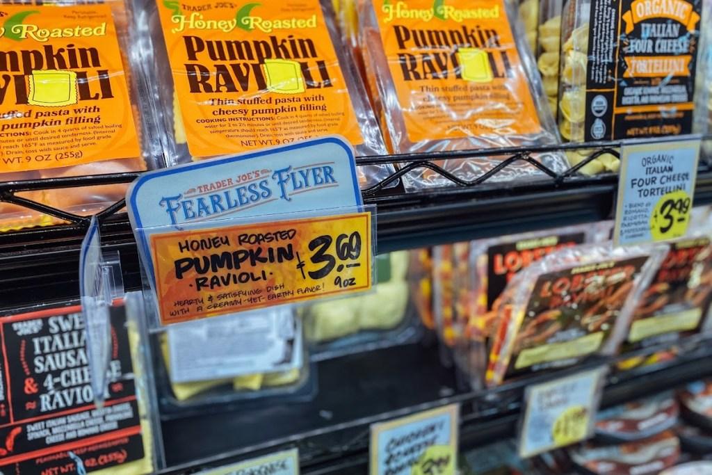 Honey pumpkin ravioli